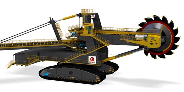 KR4500Nk – BUCKET WHEEL EXCAVATOR (K 1100)