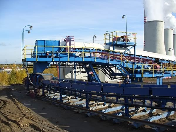 STABILIZER BELT CONVEYANCE RECONSTRUCTION IN CHVALETICE POWER PLANT