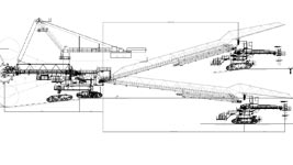 KU300 BUCKET WHEEL EXCAVATOR RECONSTRUCTION STUDY