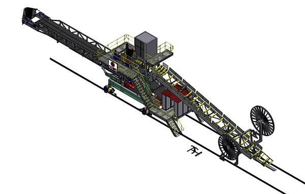 RAILWAY TRIPPER CAR FOR DPD 1200 – SVK 1200/1500