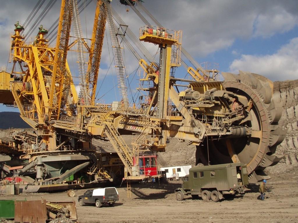 Ku 800 18 Bucket Wheel Excavator Overhaul Noen A S
