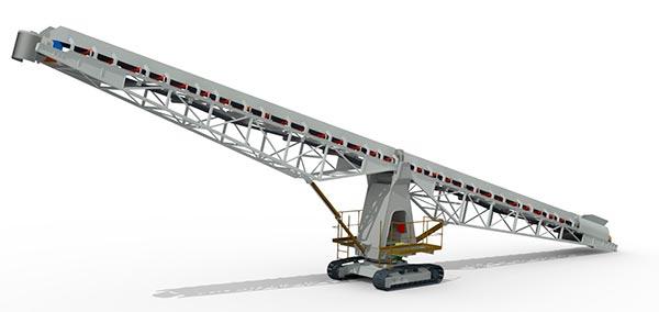 PV400Np – Ленточный конвейерный перегружатель (PVP 400)